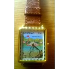Mark Fondas 25c Bahamas Stamp Watch Collectors Edition number 30308