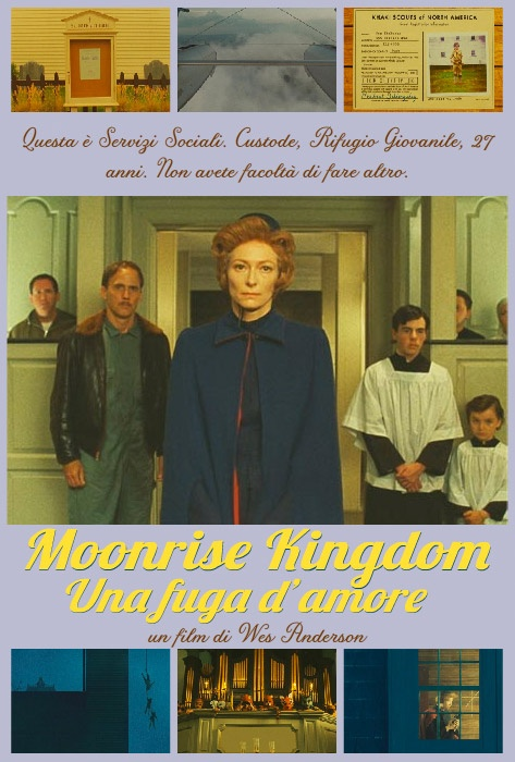 Tilda Swinton, Servizi Social in Moonrise Kingdom di Wes Anderson
