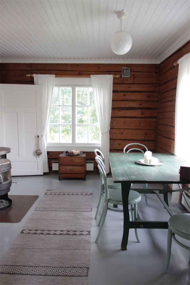 Jugend-huvilan musta pihamökki / Gardener's house