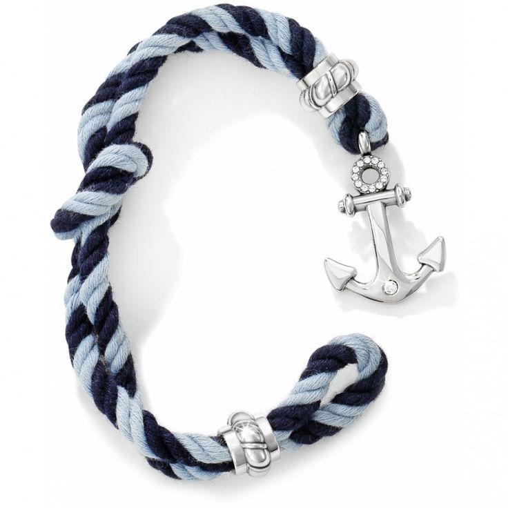 Brighton Coastal Twisted Rope Bracelet-Ink #bracelet #brighton #jewelry