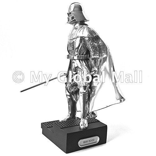 Lucasfilm Approved Star Wars Darth Vader Pewter Figurine Limited Edition (Serial Number 1931 - James @ niftywarehouse.com #NiftyWarehouse #Geek #Products #StarWars #Movies #Film