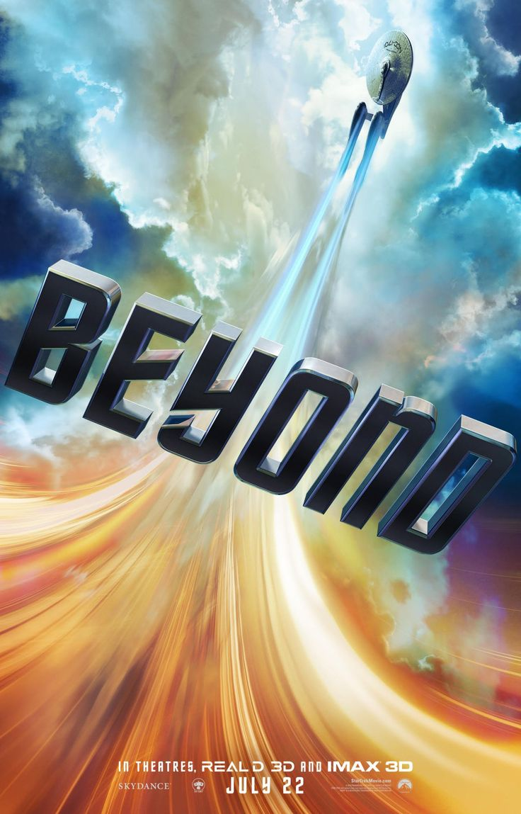 Star Trek Beyond (This film looks awesome, cant wait to see it!)