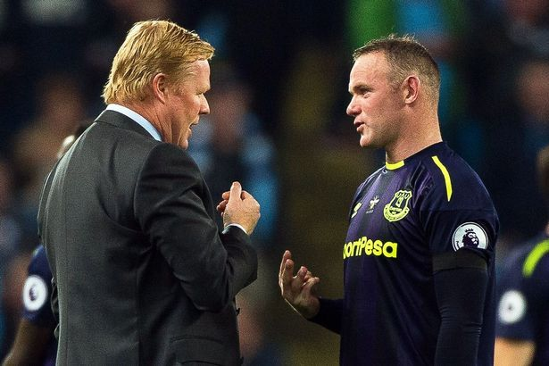 Ronald Koeman ready to dump Wayne Rooney if Everton striker steps out of line again after drink driving charge - Mirror Online