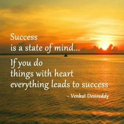 success with heart