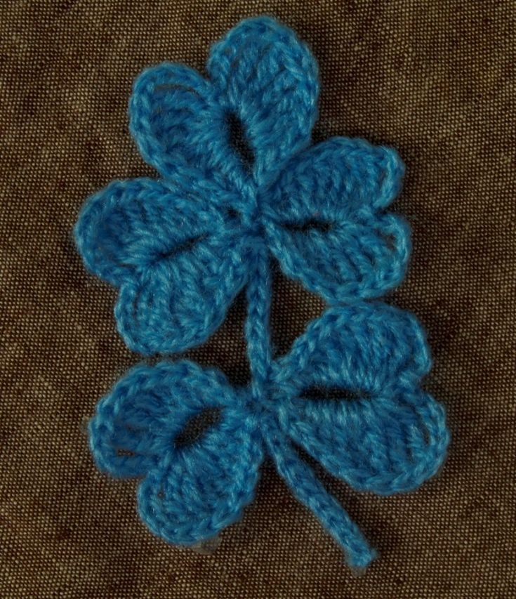 1000+ images about Crochet - Flowers & Leaves on Pinterest ...