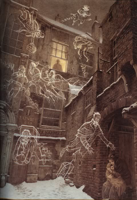 "Charles Dickens ""Christmas Carol"" – Illustrated by Roberto Innocenti"