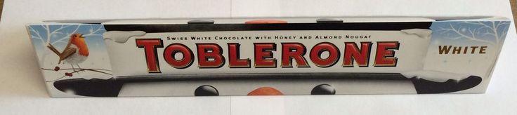 Toblerone White Christmas Chocolate Bar 400g - Massive Bar!!!! £6.25