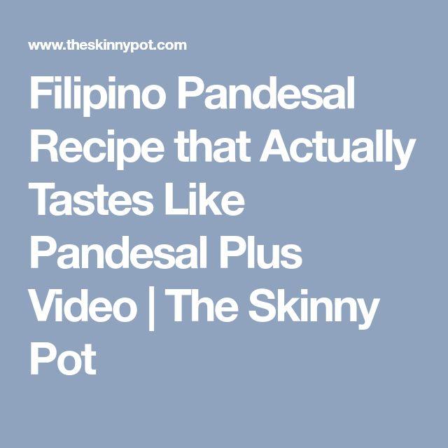 Filipino Pandesal Recipe that Actually Tastes Like Pandesal Plus Video   The Skinny Pot