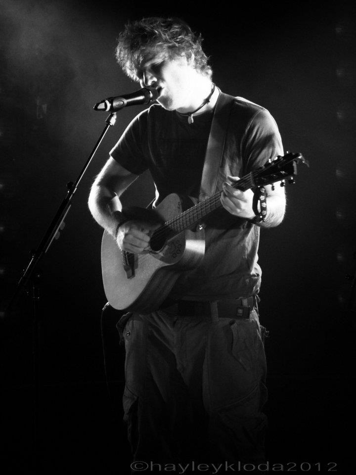 Ed Sheeran - QPAC Brisbane Australia 2012