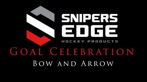 Goal Celly - Bow and Arrow  We are the Official Training Aid Supplier to CCM Hockey!  https://www.snipersedgehockey.com/?utm_content=buffer5c16f&utm_medium=social&utm_source=pinterest.com&utm_campaign=buffer #ccm #hockey #goal https://video.buffer.com/v/5a01c607936392a55e4b339e