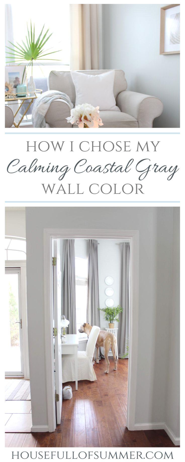 how i chose my calming coastal gray wall color grey wall on interior wall colors id=45548
