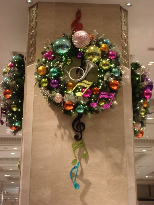8 Best Music Notes Wreaths Images On Pinterest Music