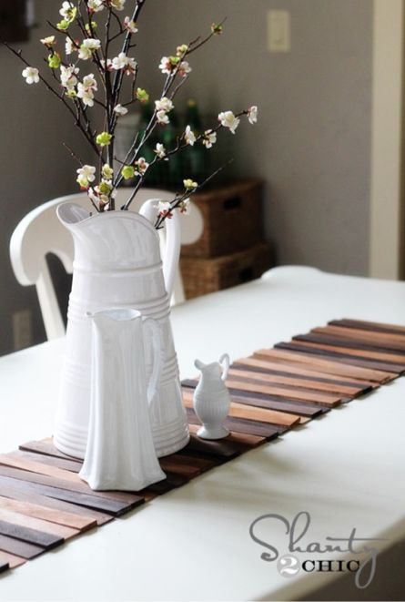 cheap decorating ideas 9 easy as pie diy table runner projects