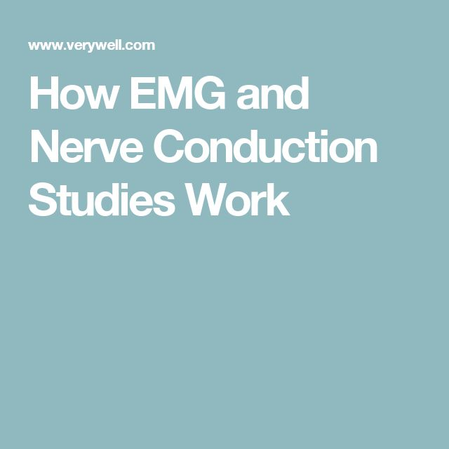 How EMG and Nerve Conduction Studies Work