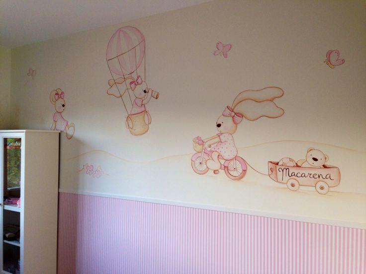 Pintura para dormitorio infantil
