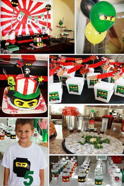 "Photo 53 of 56: Lego Ninjago, Ninja / Birthday ""Jude's Ninjago Birthday!"""
