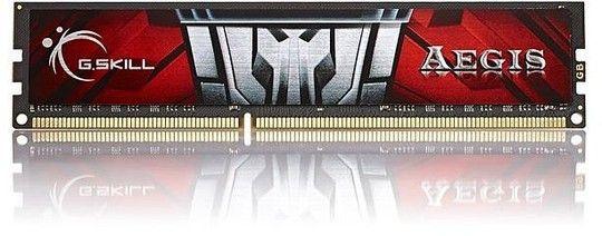 Ram DIMM DDR3 8GB G.Skill 1600 CL11S (1x8GB) 8GIS  Aegis [F3-1600C11S-8GIS] - 7d503fc1efd43c1b21f140c78b428715