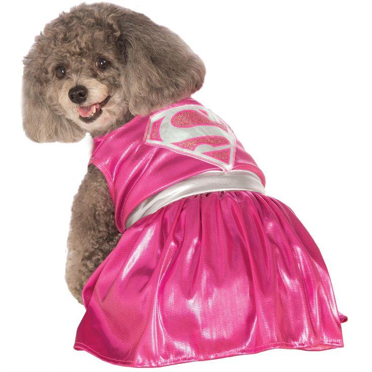 Pet Costume Pink Supergirl Lg  sc 1 st  Pinterest & 14 best Ash costume ideas images on Pinterest | Beautiful Bulldogs ...
