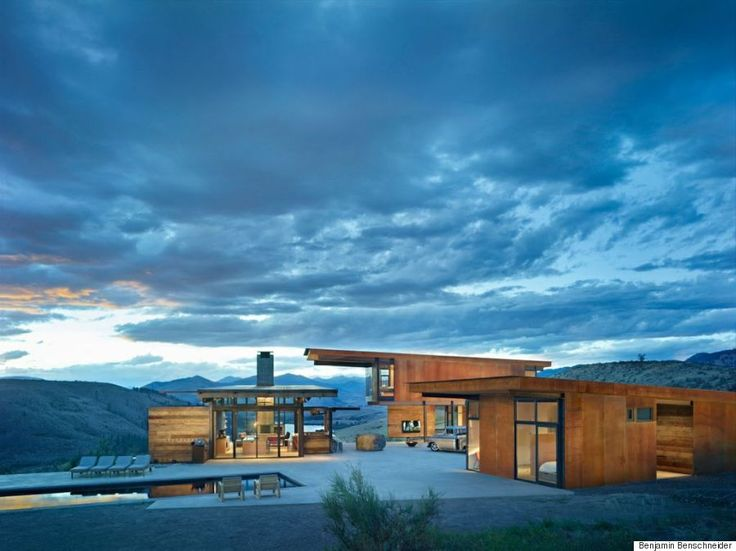 建築家が選んだ、最高峰の住宅デザイン10選  1世帯/2世帯向け注文住宅  スタッド・ハウス ワシントン州ウィンスロップ
