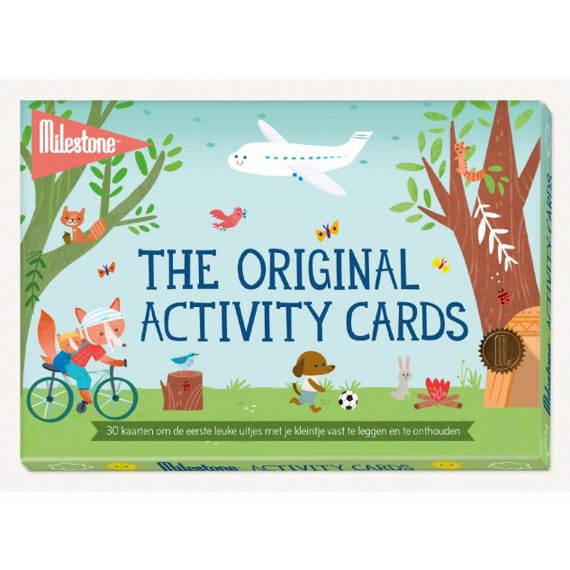 Milestone Activity Cards | Smoothing family life