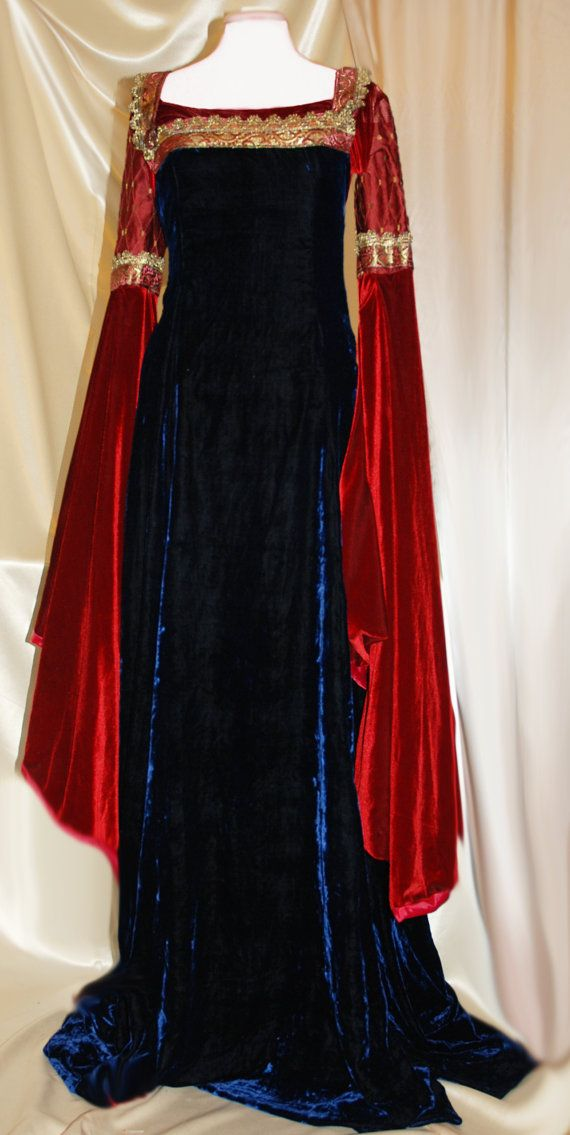 Gowns :  LOTR Arwen Inspired custom medieval #gown, by LiveMyth.