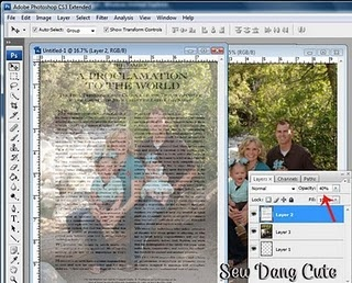 Proclamation to the Family Photo Overlay Tutorial, I have been doing these as wedding gifts forever! Love it!