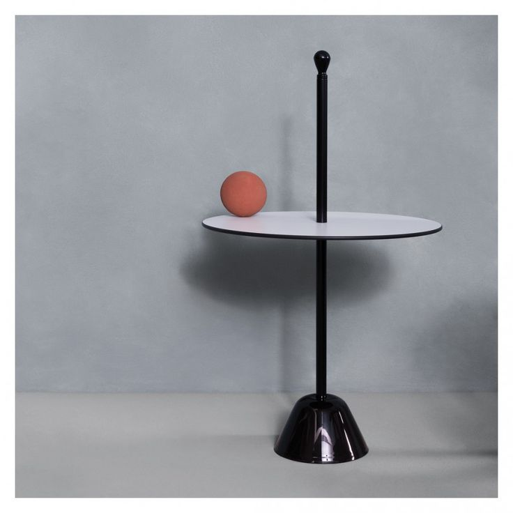 Elegant Servomuto Serving Side Table White Top