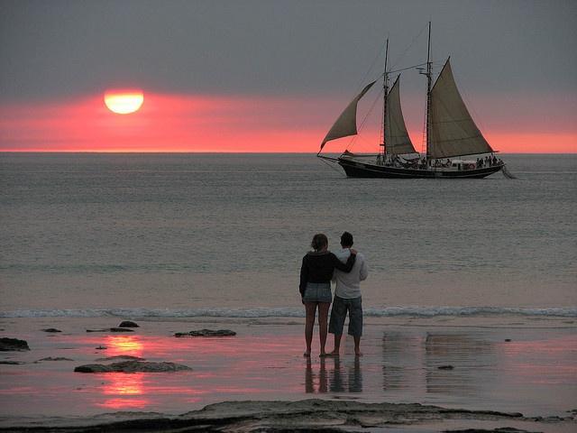 Beautiful Cable Beach Sunset, Broome, Western Australia.