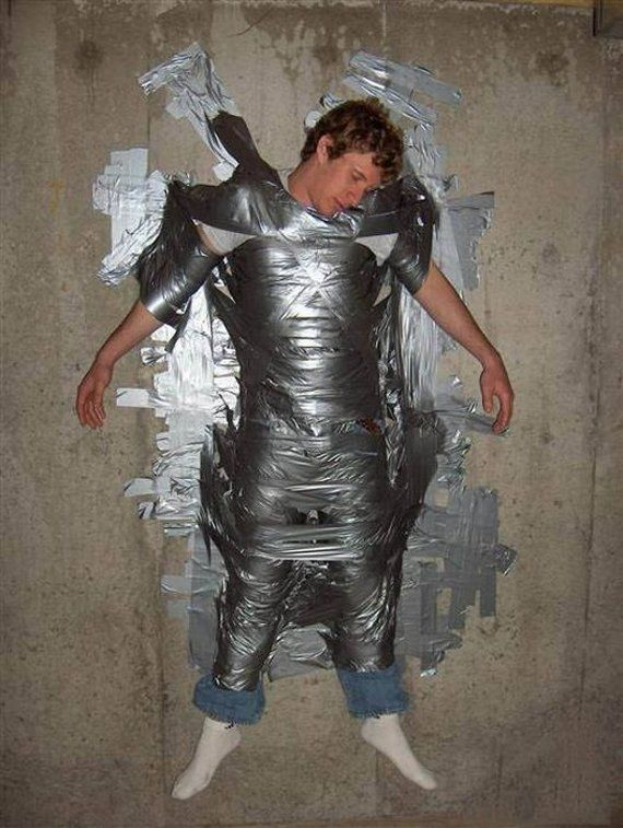 drunk | Pics Of Drunks: Many uses for tape when your drunk!!!