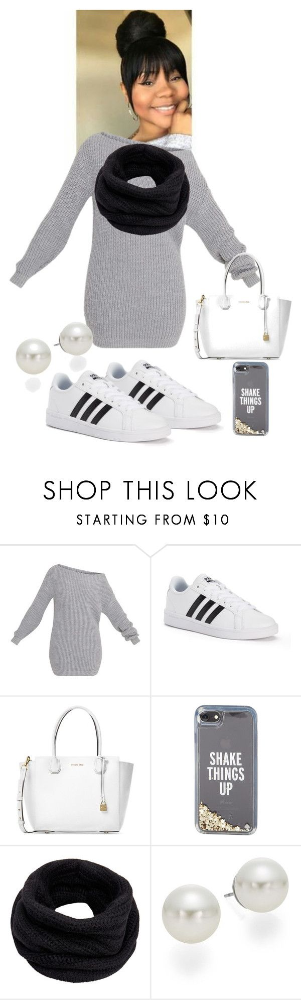 """""""Casual Day"""" by jasiana122 on Polyvore featuring Hai, adidas, Michael Kors, Kate Spade, Helmut Lang and AK Anne Klein"""