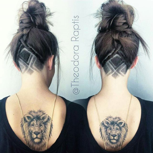 I LOVE EVERYTHING ABOUT TIS OICTURE FROM PLACEMENT OF TATTOO TO THE TATTO ITSELF AND THE HAIR STYLE , Looking for Hair Extensions to refresh your hair look