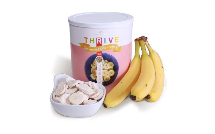 Banana Slices - Freeze Dried