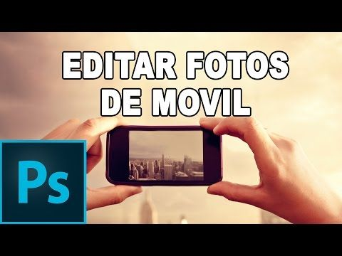 Editar fotografías del iPhone y otros smartphones - Tutorial Photoshop en Español - YouTube
