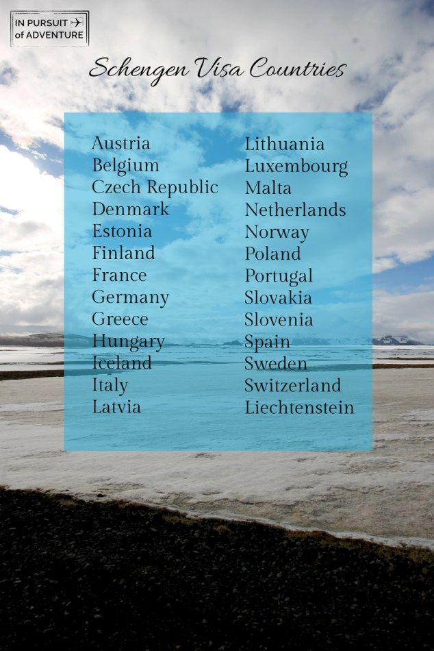 Schengen Countries Things You Donu0027t Know