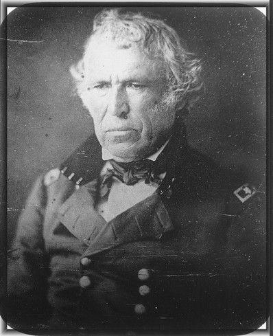 Former President Zachary Taylor.