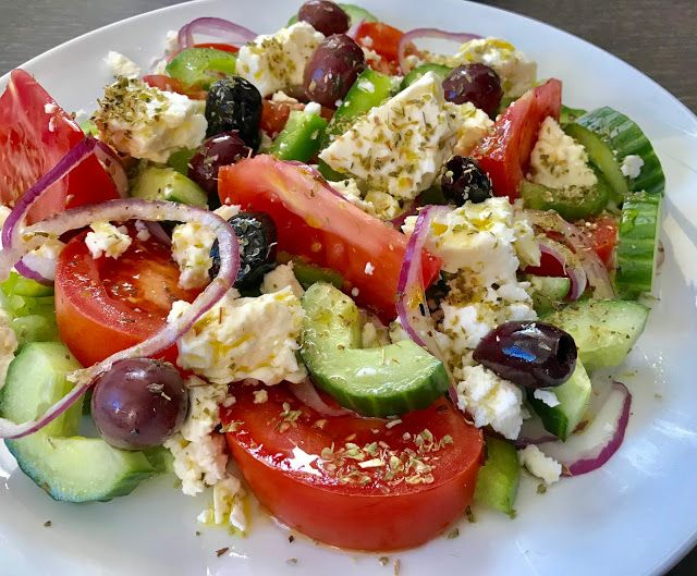 Once upon a cook: Greek Salad | 希臘沙律