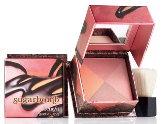 Benefit sugarbomb.....I want to try this one! I love Bella Bomba and Coralista