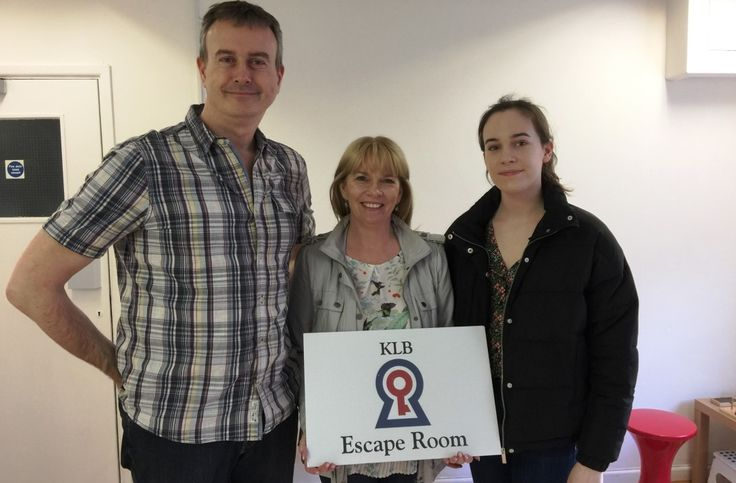 Team Baileys Escape The Room in 58 Minutes   KLB Escape Room