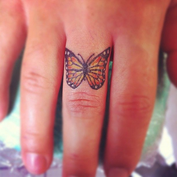 my little butterfly by snakepit tattoo