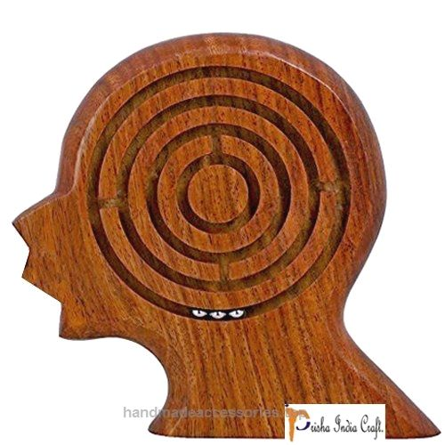 Prisha India Craft Handmade Wooden Brain Maze Puzzle for Kids – Children's Labyrinth Game 5.5 Inches – Unique Gifts for Kids – CHRISTMAS GIFT ITEM  Check It Out Now     $25.00    These are manufactured using finest quality wood and are known for their optimum quality. Furthermore these are imbib ..  http://www.handmadeaccessories.top/2017/03/17/prisha-india-craft-handmade-wooden-brain-maze-puzzle-for-kids-childrens-labyrinth-game-5-5-inches-unique-gifts-for-kids-christmas-gift-item/