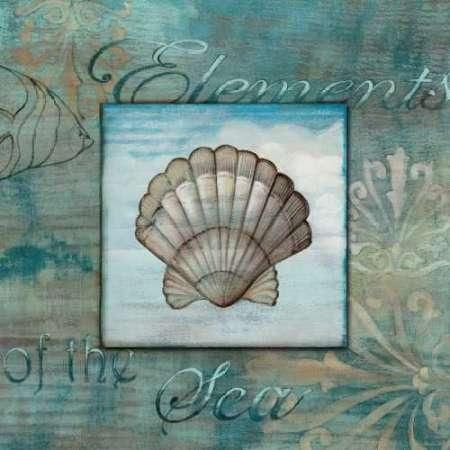 Cuadro Elements of the Sea II