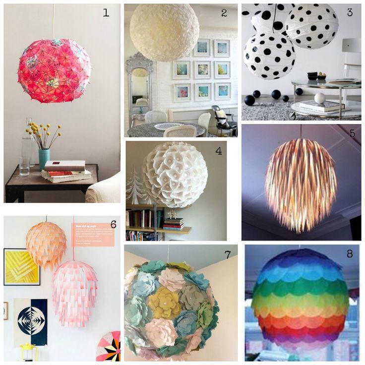 Get Your Inspiration: DIY Lampade di carta/ DIY Rice Lamps