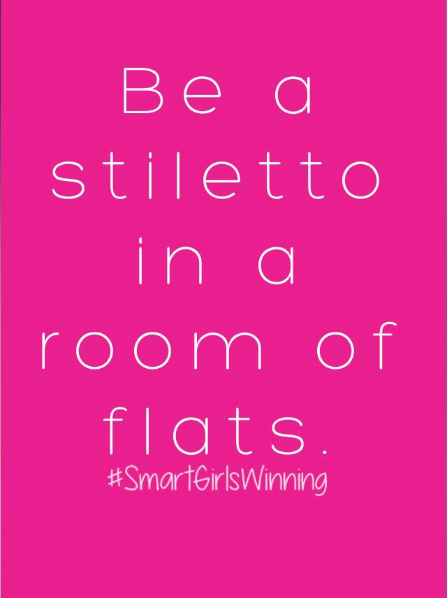 Always be a stiletto...                                                                                                                                                                                 More