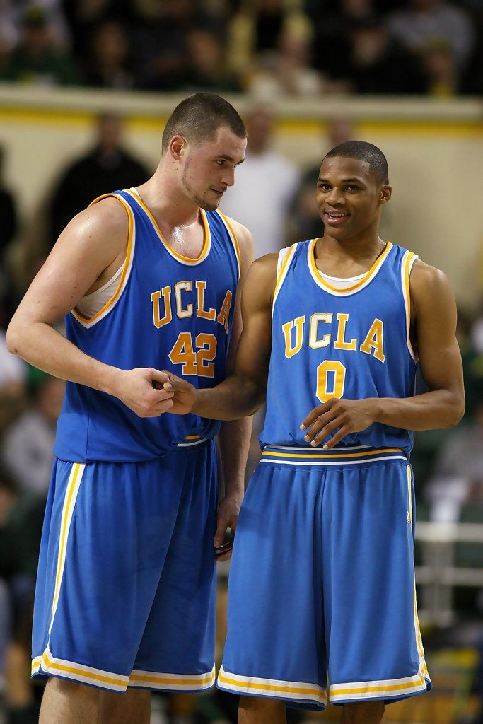 Russell Westbrook & Kevin Love - UCLA | Ucla basketball ...