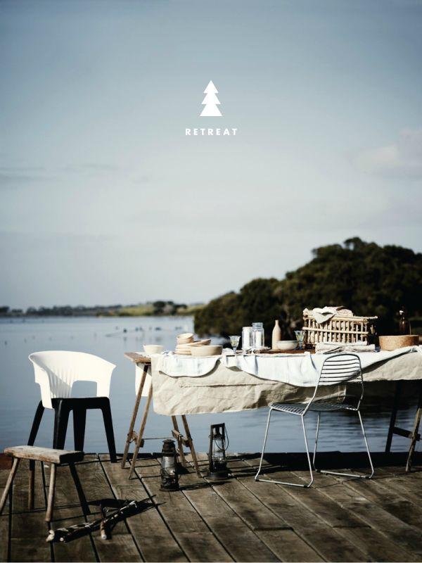 retreat: Company Picnics, Eating Alfresco, Summer Picnics, Outdoor, Places, Sharyn Cairn, Lakes Living, Design, The Sea