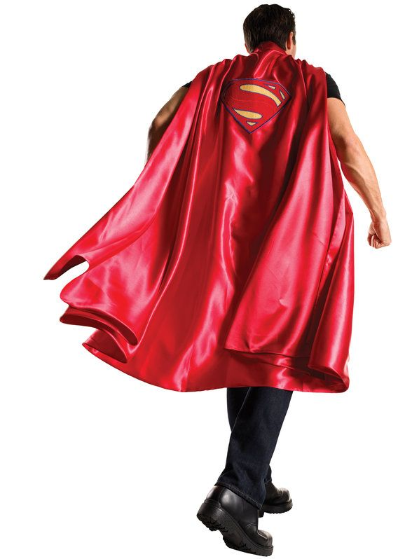 Check out Batman V Superman Deluxe Adult Superman Cape - Superheroes & Villains Adult Costumes from Wholesale Halloween Costumes