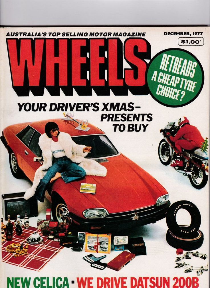 Vintage Wheels Magazine 40th Birthday Gift Idea December 1977 Vintage Australian Wheels Magazine Gift for Him by SuesUpcyclednVintage on Etsy
