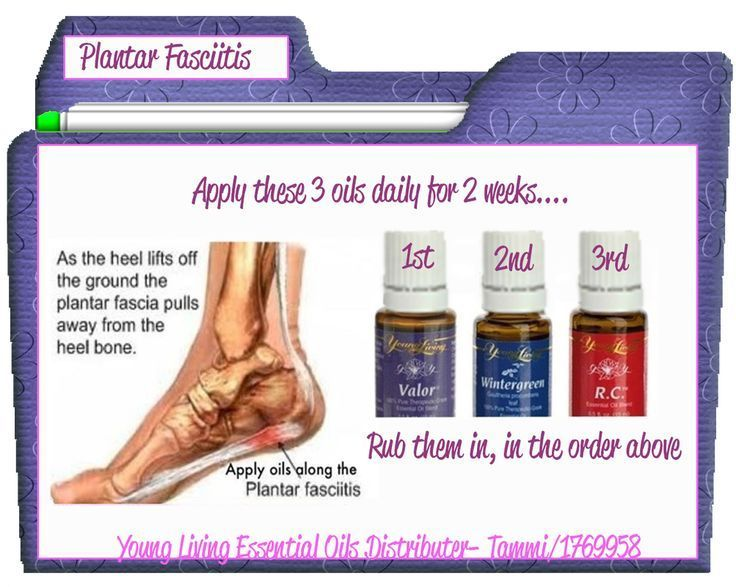 Image result for plantar fasciitis young living essential oils