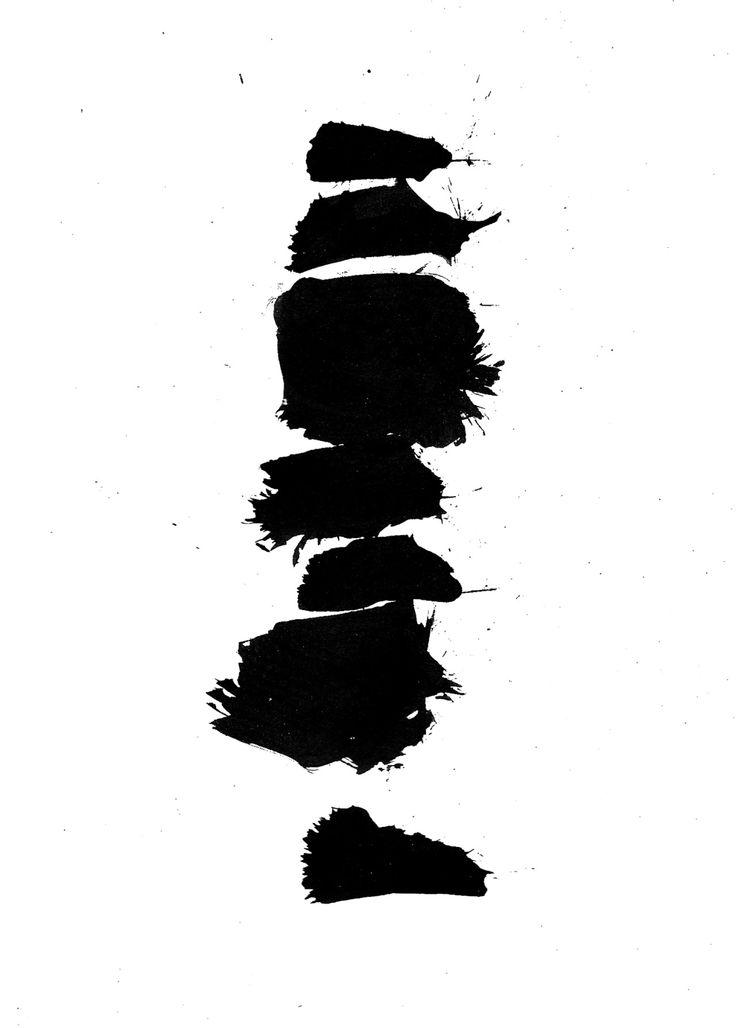 Greg Papagrigriou sumi ink, brush
