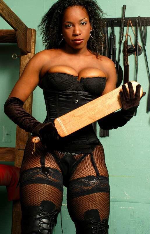 Black ebony femdom dommes